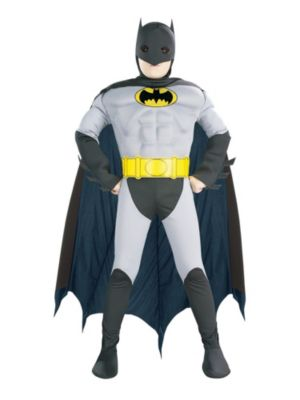 Toddler's Batman Muscle Chest Costume