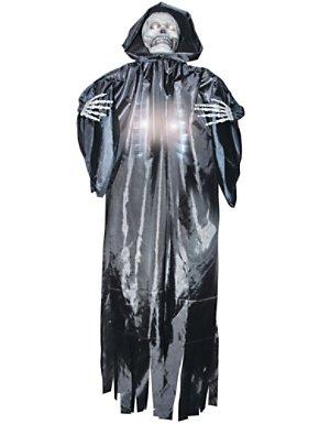 Shocking Lifesize Skeleton Reaper Prop