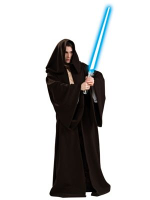 Click Here to buy Super Deluxe Star Wars Jedi Robe Costume from Wholesale Halloween Costumes