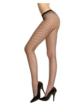 Black Industrial Fishnet Hose