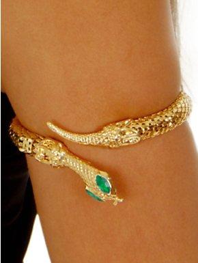 Golden Snake Armband/Ankleband