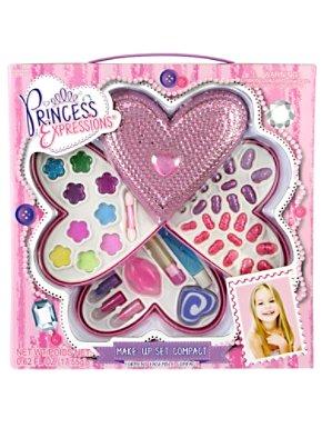 Jeweled Heart Makeup Compact