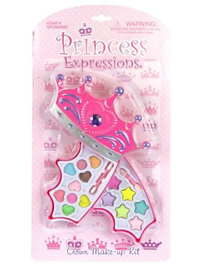 Princess Pink Crown Make Up Kit