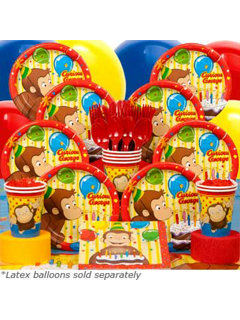 Curious George Party Kit
