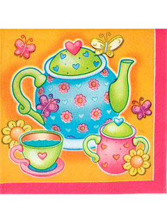 Tea Party Napkins (16-pack)