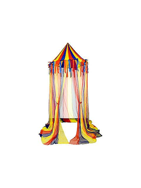 Circus canopy tent for a party