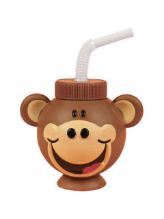 Monkey sippy cup
