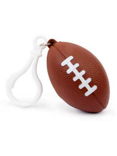 Football Backpack Clip (pack of 6)