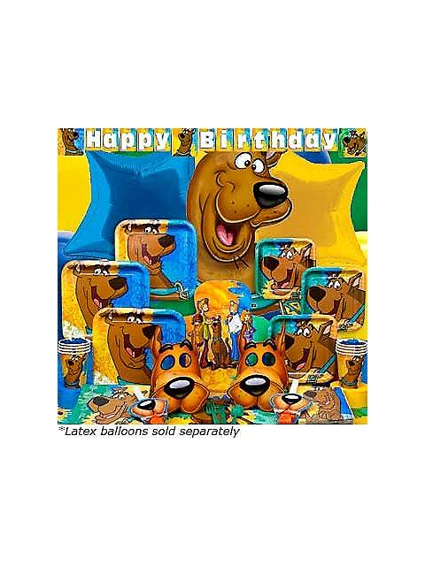 Scooby Doo Birthday Ultimate kit Serves 8 Guests
