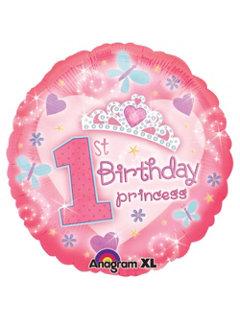 First Birthday Princess Balloon