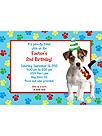 Puppy Dog Personalized Invitation