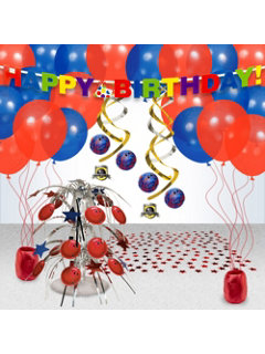 Bowling Party Decoration Kit