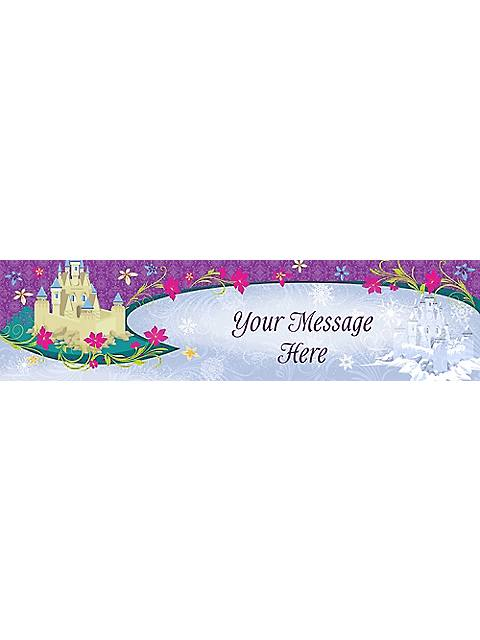 disney frozen personalized banner