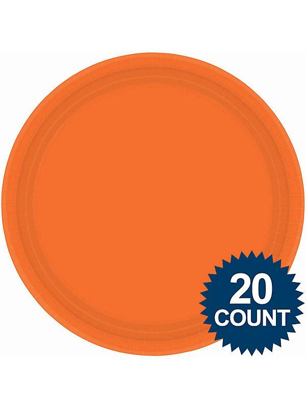 Amscan Orange 10