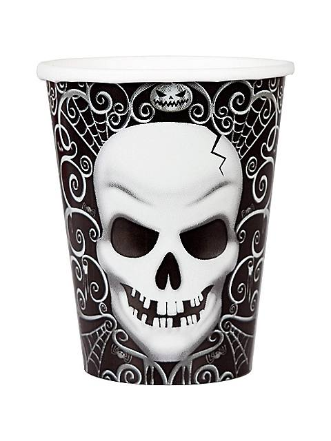 Halloween Costumes | Halloween Drink Cups Fright Night Theme 9 Oz.