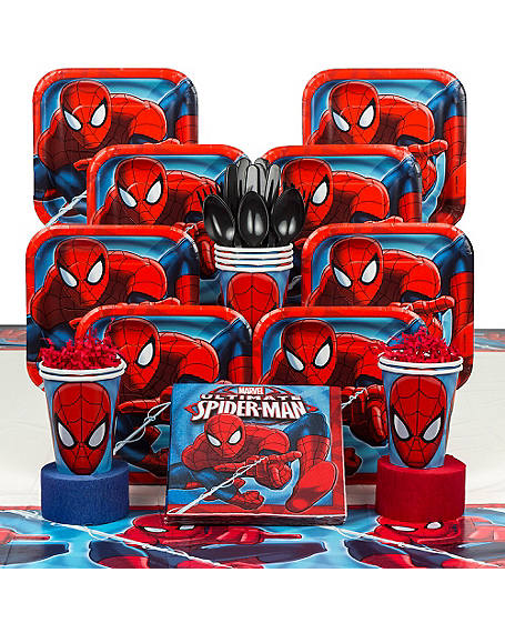 Spiderman Party Supplies & Decorations