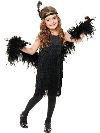 Girls 20's Costumes | Kids 20's Halloween Costume for a Girl