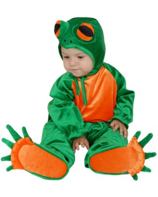 Click Here to buy Little Frog Newborn Costume for Baby from Costume Discounters