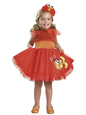 Frilly Sesame Street Elmo Toddler Costume