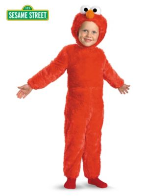 Click Here to buy Baby & Toddler Sesame Street Elmo Comfy Fur Costum from Wholesale Halloween Costumes
