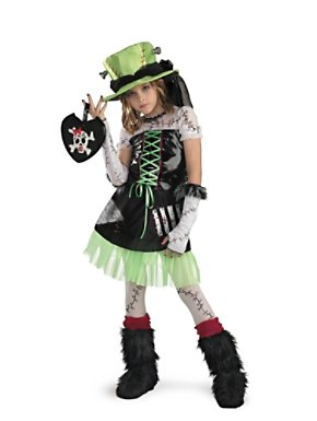 Monter Bride Costume for Child