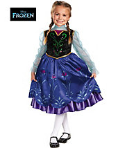 Frozen Anna Deluxe Child Costume - disney - girls-costumes