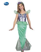 Ariel Little Mermaid Standard Child Complete Costume Kit - Small - disney - girls-costumes