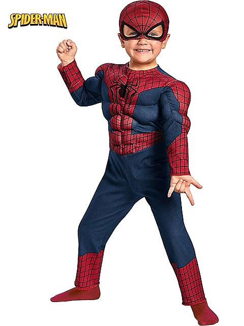 Spider-Man Movie 2 Muscle Chest Costume for Kids