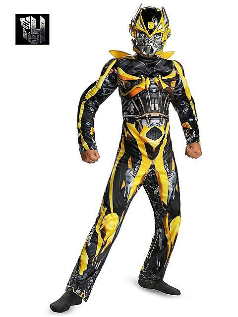 Transformers Bumblebee Classic Muscle Costume for Boys