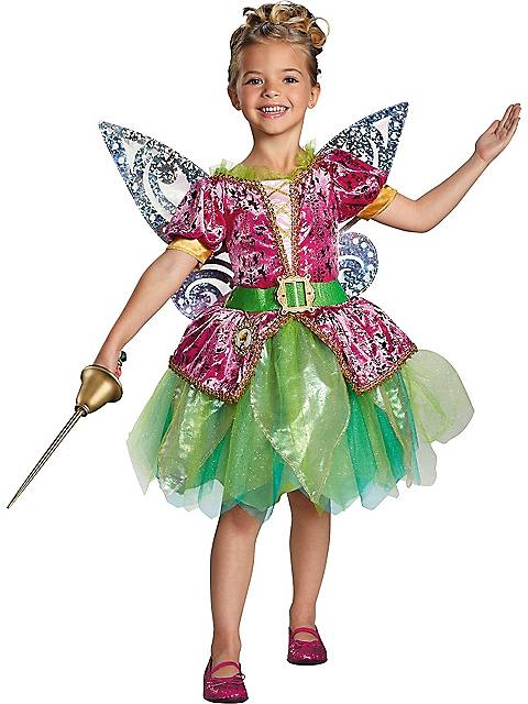 Pirate Tinkerbell Deluxe Costume for Girls