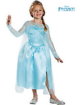 Disney's Frozen Elsa Snow Queen Classic Girl's Costume - disney - girls-costumes