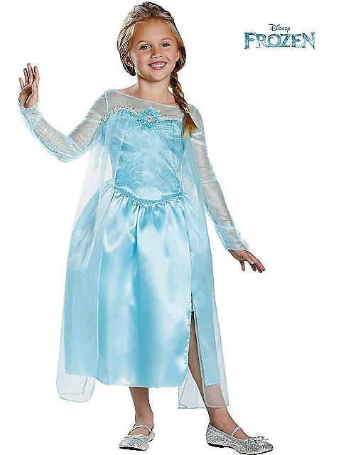 Frozen Elsa Snow Queen Girl's Costume