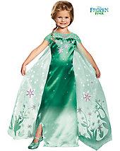Elsa Frozen Fever Deluxe Girl's Costume - disney - baby-toddler-costumes