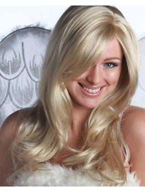 Deluxe Blonde/light Blonde Divine Wig Adult
