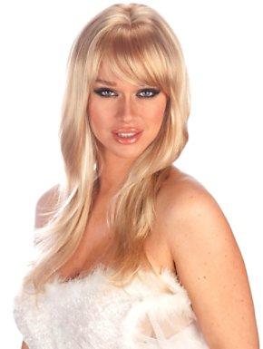 Adult Blonde and Light Blonde Dream Wig
