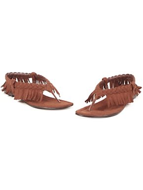 Indian Fringe Flip Flop Sandal Adult