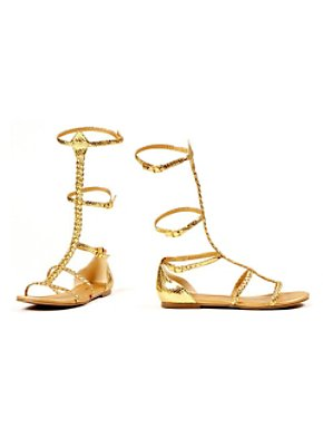 Adult Egyptian and Greek Gold Sandals