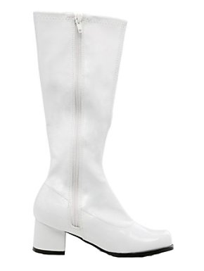 White Patent Gogo Boot Child