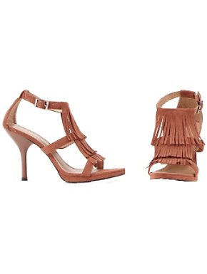 Indian Fringe Sandal Adult