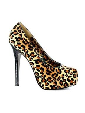 Adult Leopard Print Pump