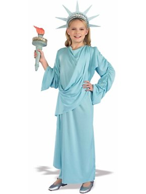 Child Miss Liberty Costume