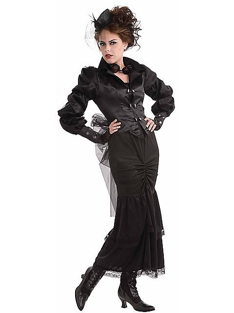 Steampunk Fashion Women Dresses Halloween Costume Idea...