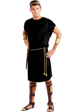 Adult Black Tunic Costume