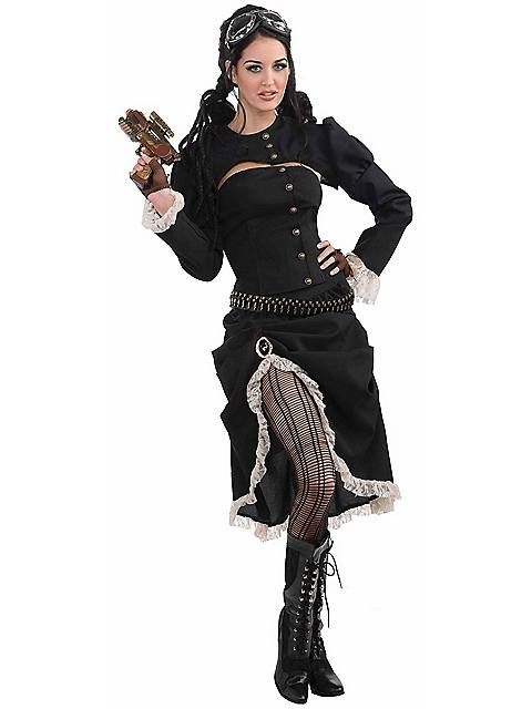 Renegade Steam Punk Costume for Women $31.98 AT vintagedancer.com