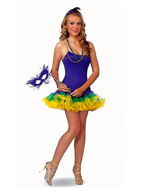 Halloween Costumes | Halloween Mardi Gras Fairy Adult Costume