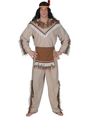 Chief Running Bear Mens Costume