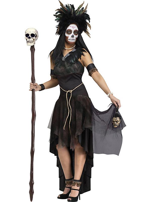 Adult Voodoo Queen Halloween Costume - Small | eBay Voodoo Queen Costume