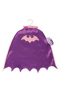 Batgirl Scalloped Cape with Glitter Logo