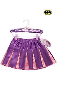 Girl's Batgirl Pleated Skirt Costume