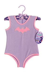 Batgirl Leotard with Glitter Logo